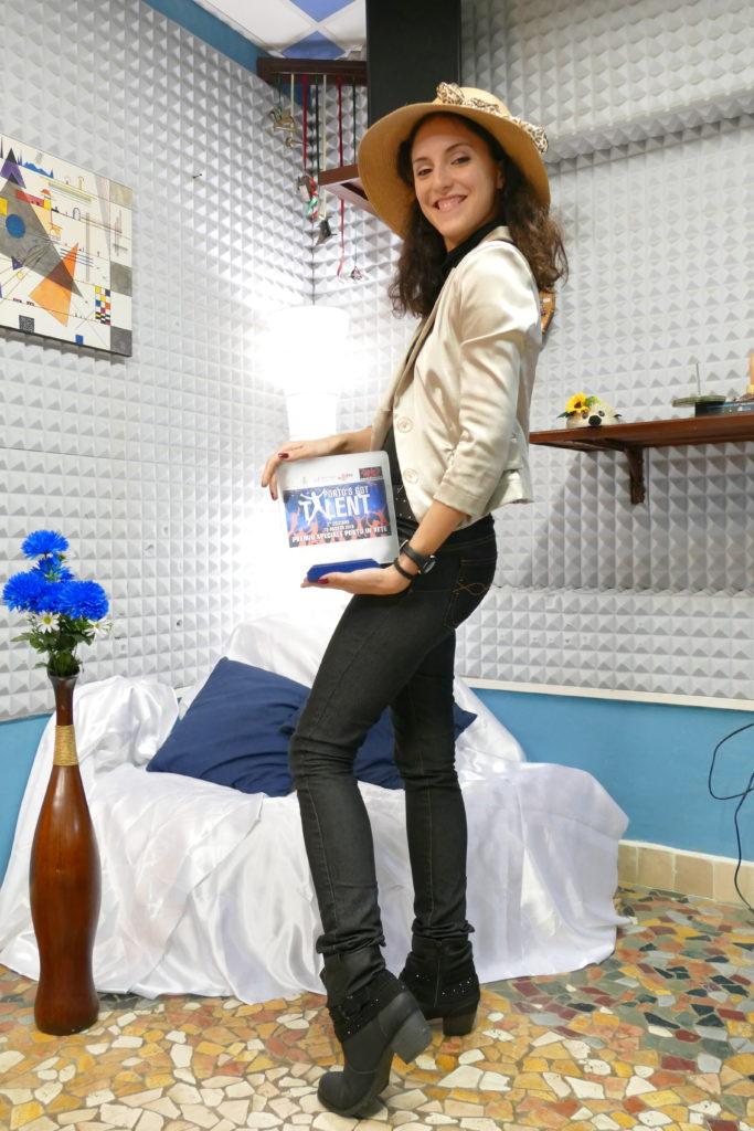Ilaria Baroni - Premio Porto's Got Talent (2016)